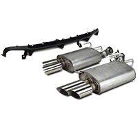 Ford Racing Shelby GT500 Rear Valance & Exhaust Kit (13-14 All) - Ford Racing M-5230-MSVTCD
