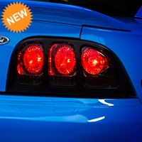 Smoked Euro Tail Lights (96-98 All) - AM Lights LT-MST94G-APC
