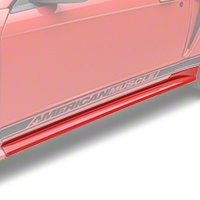 Ford Rocker Panel Molding - LH - Unpainted (99-04 GT, V6; 99-01 Cobra) - Ford 4R3Z-6310177-APTM