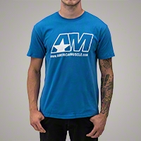 AmericanMuscle Icon T-Shirt - Men - AM Accessories 102635