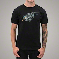 AmericanMuscle Shredded T-Shirt - Men - AM Accessories 102637