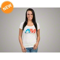 AmericanMuscle Icon T-Shirt - Women - AM Accessories 102643