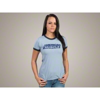 AmericanMuscle Ringer T-Shirt - Women - AM Accessories 102646
