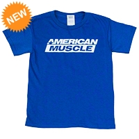AmericanMuscle T-Shirt - Kids - AM Accessories 102647