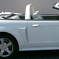 Classic Design Concepts Convertible Lightbar - Tan (94-04 GT, V6, Cobra) - CDC 101414