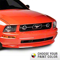 Mustang V6 Chin Spoiler - Pre-painted (05-09 V6) - AM Exterior 11033