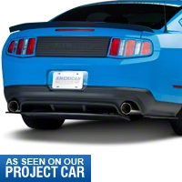 RTR Rear Diffuser with 3pc Splitter (10-12 All) - RTR 1098-7006-01