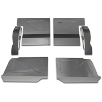 Scott Rod Fabrication Aluminum Rear Seat Delete Kit - Coupe (79-93 All) - AM Interior FRSD-C