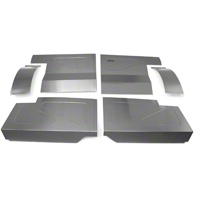 Scott Rod Fabrication Aluminum Rear Seat Delete Kit - Coupe (87-93 All) - AM Interior FRSD-QT