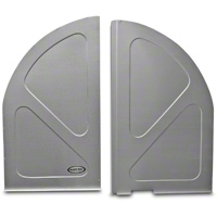 Scott Rod Fabrication Aluminum Spare Tire Cover Panel - Coupe (79-93 All) - AM Interior FSTC-C