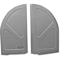Scott Rod Fabrication Aluminum Spare Tire Cover Panel - Hatchback (79-93 All) - AM Interior FSTC-H