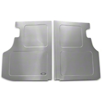 Scott Rod Fabrication Aluminum Trunk Floor Cover - Coupe (79-93 All) - AM Interior FTF-C
