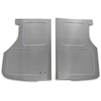 Scott Rod Fabrication Aluminum Trunk Floor Cover - Hatchback (87-93 All) - AM Interior FTF-H