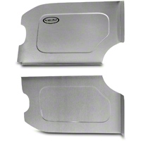 Scott Rod Fabrication Aluminum Trunk Side Panel Covers - Coupe (79-93 All) - AM Interior FTSB-C