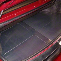 Scott Rod Fabrication Aluminum Trunk Floor Cover - Coupe (94-04 All) - AM Interior NTF-88