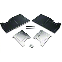 Scott Rod Fabrication Aluminum Trunk Floor And Side Panel Cover Kit (94-04 All) - AM Interior NTFSB-15