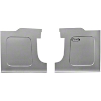 Scott Rod Fabrication Aluminum Trunk Side Panel Covers - Coupe (94-04 All) - AM Interior NTSB-14