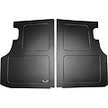 Scott Rod Fabrication Aluminum Trunk Floor Cover - Black - Coupe (79-93 All) - AM Interior FTF-C CA