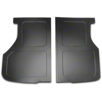 Scott Rod Fabrication Aluminum Trunk Floor Cover - Black - Hatchback (79-93 All) - AM Interior FTF-H CA