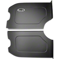 Scott Rod Fabrication Aluminum Trunk Floor And Side Panel Cover Kit - Black - Coupe (87-93 All) - AM Interior FTFSB-C CA