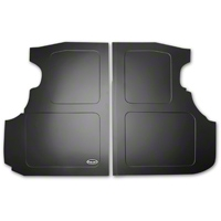 Scott Rod Fabrication Aluminum Trunk Floor Cover - Black - Coupe (94-04 All) - AM Interior NTF-88 CA