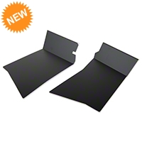 Scott Rob Fabrication Aluminum Rear Inner Skirt Covers - Black (87-93 All) - Scott Rod Fabrication FIR-82CA