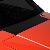 Scott Rob Fabrication Aluminum Cowl Cover - Black (87-93 All) - Scott Rod Fabrication FFC-58CA