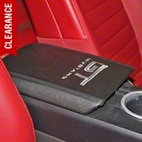 Arm Rest Cover - Mustang GT Logo (05-09 All) - AM Interior 5R3Z-6306024-GT