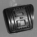 Mustang 5.0 Brake Pedal Cover (79-93 Manual) - AM Interior D9ZZ-2457-5.0
