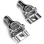 Chromed Steel Upper Radiator Brackets (87-93 5.0L) - AM Exterior NM2011