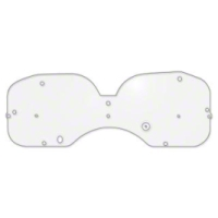 Clear Lens Instrument Cover (79-86 All) - AM Restoration D9ZZ-10887-A