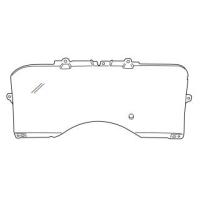 Clear Lens Instrument Cover (90-93 All) - AM Restoration F0ZZ-10887-A