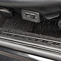 Black Door Sill Plates - Mustang Lettering (79-93 All) - AM Interior E5ZZ-6113208-BM