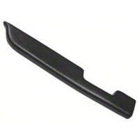 Black Door Arm Rest Pad - Left Manual Window (87-93 All) - AM Restoration E7ZZ-24143-BK
