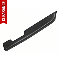 Black Door Arm Rest Pad - Right Manual Window (87-93 All) - AM Restoration E7ZZ-24142-BK
