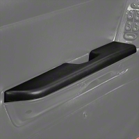 Black Door Arm Rest Pad - Left Power Window (87-93 All) - AM Restoration E7ZZ-6124141-BL