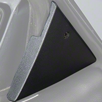Power Mirror Mount Cover Panels (87-93 All) - AM Restoration E7ZZ-17D698/9-A