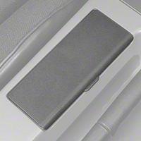 Replacement Console Ashtray Door - Gray (87-93 All) - AM Restoration E7ZZ-6104786-G