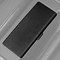 Replacement Console Ashtray Door - Black (87-93 All) - AM Restoration E7ZZ-6104786-BK