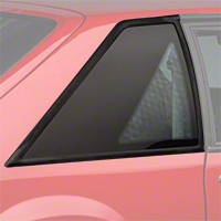 Replacement Quarter Window - Hatchback - Pair (87-93 All) - AM Restoration E7ZZ-6129710/1B