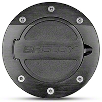 Shelby Black Fuel Door (05-09 All) - Shelby 5S3Z-66405A26BK