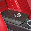 Shelby Armrest Cover - Modern Cobra Logo (05-09 All) - Shelby Performance Parts 5S3Z-6306024-SL