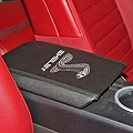 Shelby Armrest Cover - Tiffany Cobra Logo (05-09 All) - Shelby Performance Parts 8S3Z-6306024-TV