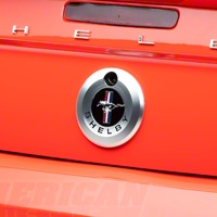 Shelby Trunk Lock Emblem Cover (05-09 All) - Shelby 7S3Z-6342528-SL