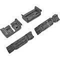 Upper and Lower Radiator Bracket Insulators (79-93 All) - AM Restoration E0SB-8124/5-K