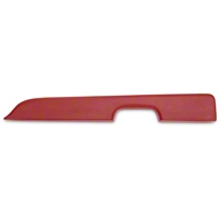 Red Door Arm Rest Pad - Right Power Window (87-93 All) - AM Restoration E7ZZ-6124142-SR