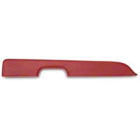 Red Door Arm Rest Pad - Left Power Window (87-93 All) - AM Restoration E7ZZ-24141-RD