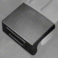 Center Console Arm Rest Delete Plate - Black (87-93 All) - AM Restoration E7ZZ-6104574-BK