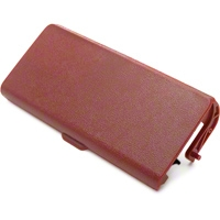 Replacement Console Ashtray Door - Red (87-93 All) - AM Restoration E7ZZ-6104786-RD