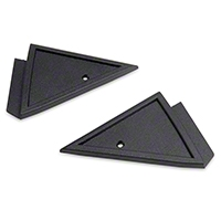 Power Mirror Mount Cover Panels (79-86 All) - AM Restoration D8ZZ-17D698/9-D